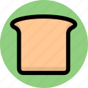 bread, dessert, sandwich, slice icon