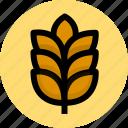 bread, flour, wheat icon