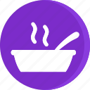 cooking, drinks, fast, food, gastronomy, restaurant, soup icon