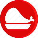 beaf, cooking, dish, food, loaf, meat, restaurant icon