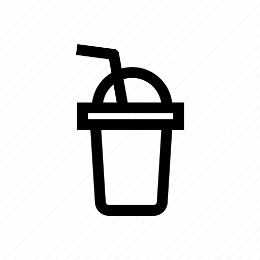 beverage, drink, glass, milk shake, smoothies icon