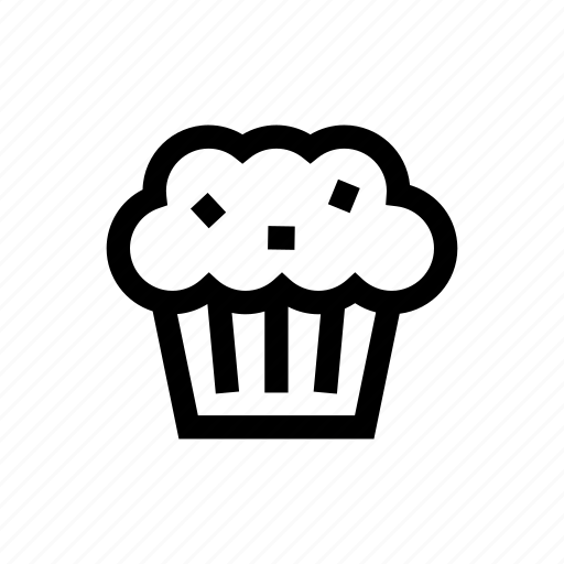 cake, cupcake, dessert, food, muffin icon
