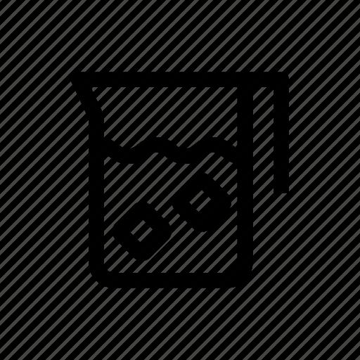 beverage, drink, jug, pitcher, water icon