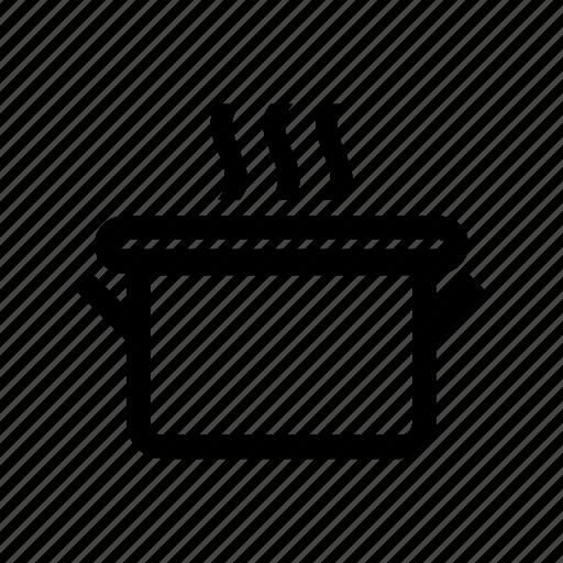 cooking, food, kitchen, kitchenware, pot icon