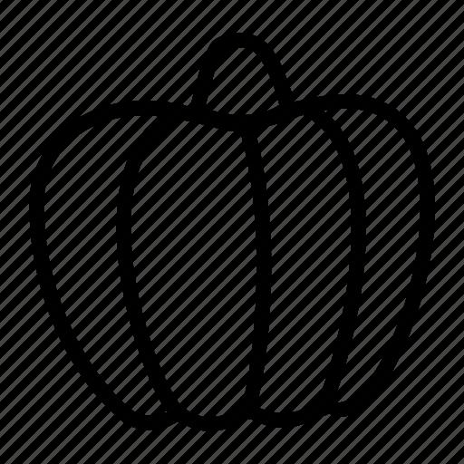 food, halloween, kitchen, lantem, pumpkin, scary, vegetable icon