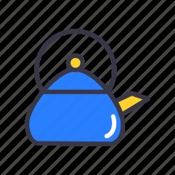 appliances, boil, food, jar, kitchen, pot, tea icon