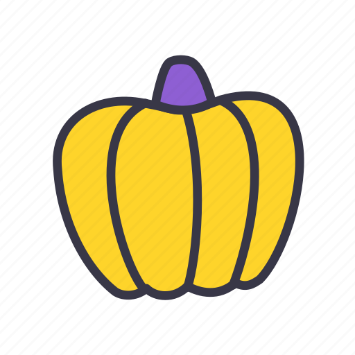 food, halloween, kitchen, lantem, pumpkin, scary, vegetable icon