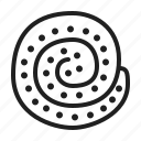 bakery, bread, food, sweet icon