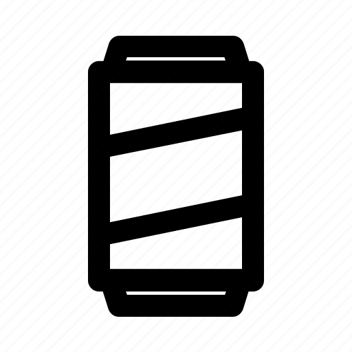 alcohol, beverage, can, canned drink, drink, outline, soda icon