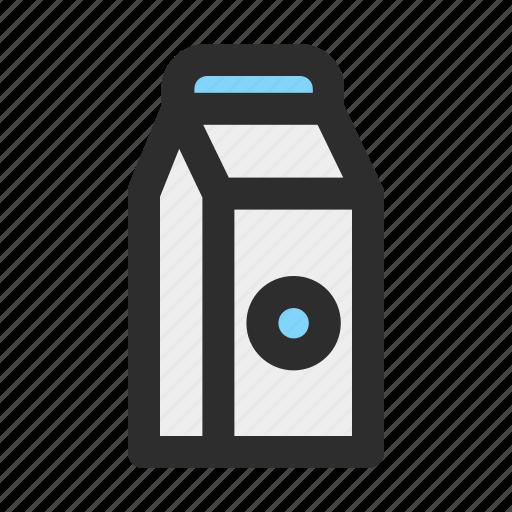 beverage, cow, drink, filled, milk, sweet icon