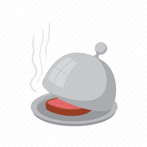 cartoon, design, dish, food, kitchen, lid, white icon