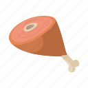 barbecue, beef, cartoon, cooking, food, meat, pork icon