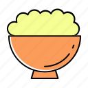 bowl, dessert, food, healthy, meal, noodles, soup icon