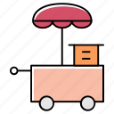 burger point, fastfood point, food, food counter, food point, meal point icon