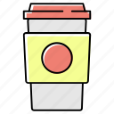 beverage, bottle, coffee, drink, glass, juice, tea icon