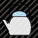 caldron, kettle, kitchen, tea maker, teakettle, teapot