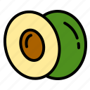 avocado, delicious, egg, food, fruit, happy, vegetable icon