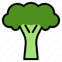 broccoli, delicious, egg, food, fruit, happy, vegetable icon