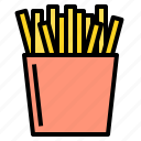 delicious, egg, food, french, fries, fruit, vegetable icon