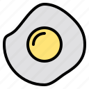delicious, egg, food, fried, fruit, happy, vegetable icon