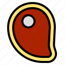 delicious, egg, food, fruit, happy, meat, vegetable icon