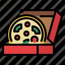 fast, food, junk, pizza, restaurant