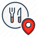 delivery, food, location, order, place