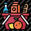 grocery, food, store, market, basket