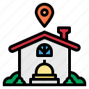 location, home, food, delivery, pinholder