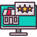 feedback, recommended, review icon