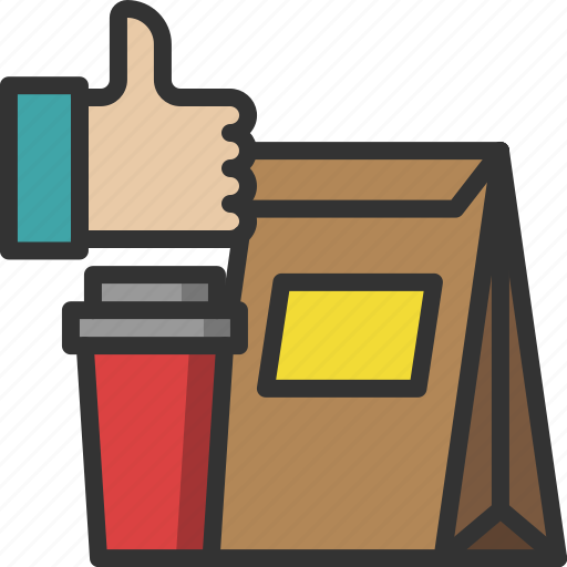 delivery, food, food delivery, package, packaging, shipping, takeaway icon