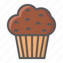 bakery, chocolate, cupcake, food, muffin, pastry, sweet icon