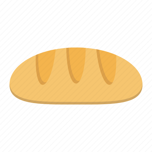 baguette, bake, bakery, bread, food, loaf, meal icon