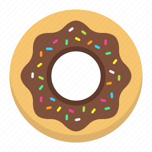 bakery, delicious, donut, doughnut, food, pastry, sweet icon