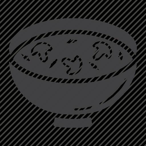 bowl, cook, dinner, food, mushroom, restaurant, soup icon