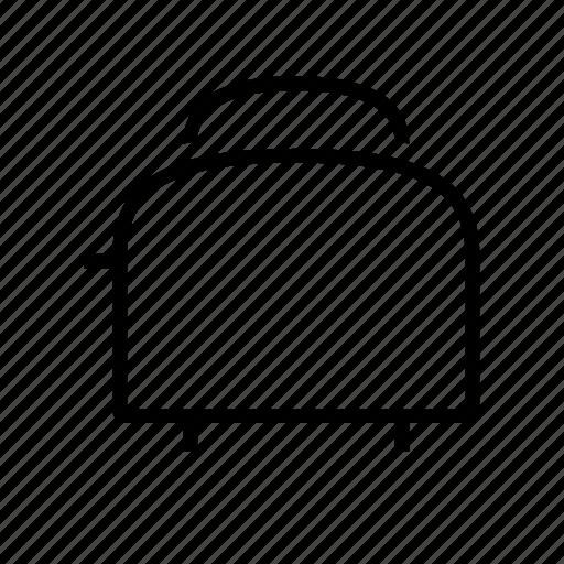 bread, breakfast, food, toast, toaster icon