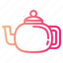 drink, hot, pot, tea icon
