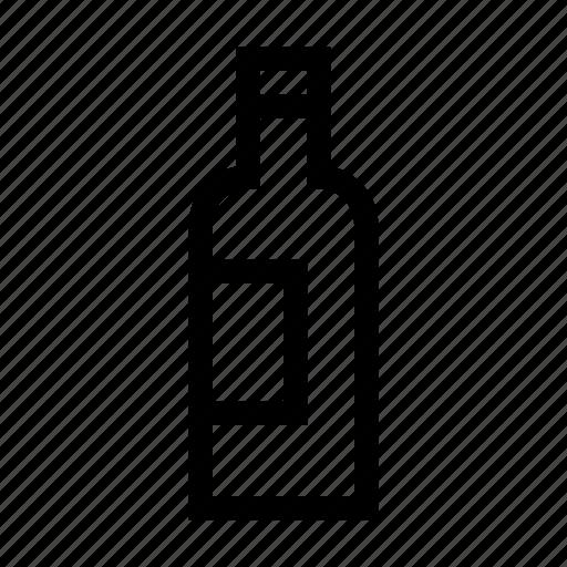 beverage, bottle, drink, wine icon