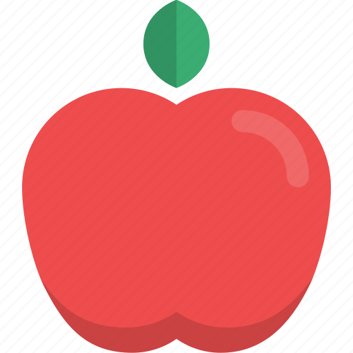apple, food, fruit, natural, organic, raw food icon