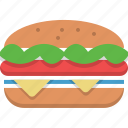 big mac, burger, fast food, food, junk food, meal icon