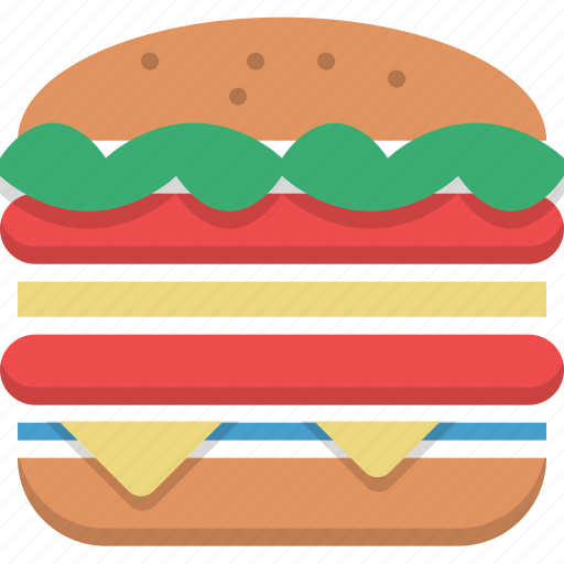 big mac, burger, fast food, food, huge, junk food icon