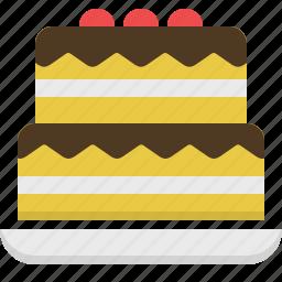 cake, dessert, kitchen, sweet, wedding cake icon