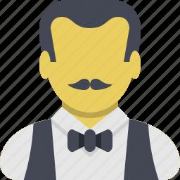 chief, kitchen, restaurant, serve, waiter icon