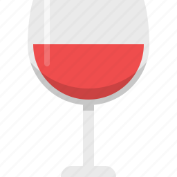 alcohol, drink, glass, kitchen, red wine, wine icon
