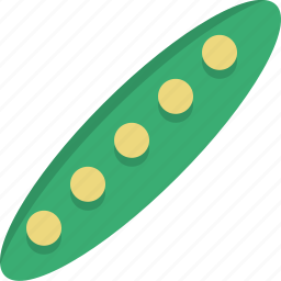 beans, food, kitchen, natural, organic, peas, vegetable icon