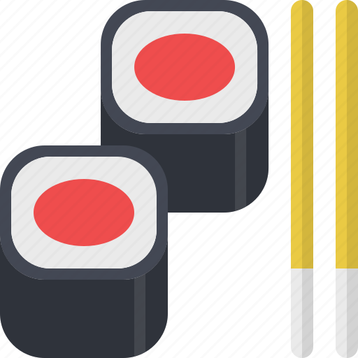fish, food, japanese, meal, restaurant, sushi icon