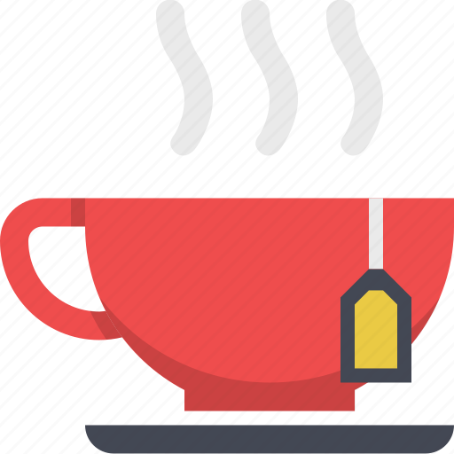 Tea, drink, hot drink, beverage, coffee, tea cup, coffee cup icon
