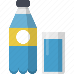 beverage, drink, fresh, glass, refreshing, water icon