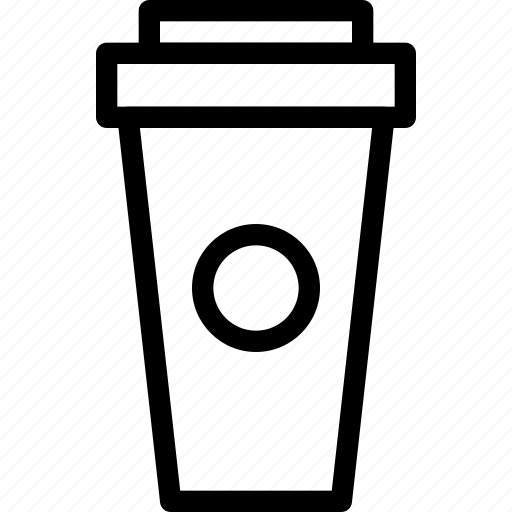 coffee, container, creative, cup, drink, grid, hot, refresh, shape, tea icon