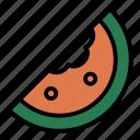 food, fruit, healthy, juicy, restaurant, sweet, watermelon icon